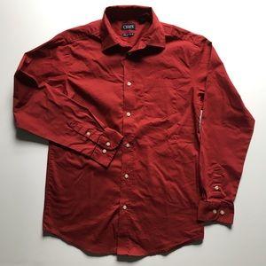Chaps boys' button down dress shirt, L 14 - 16